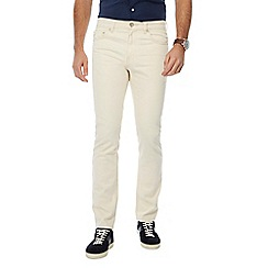 Hammond & Co. by Patrick Grant - Big and tall off white slim fit jeans