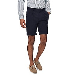 Hammond & Co. by Patrick Grant - Navy seersucker shorts