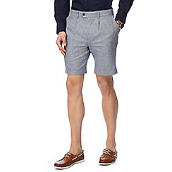 Hammond & Co. by Patrick Grant - Big and tall Grey textured shorts