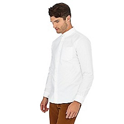 Hammond & Co. by Patrick Grant - Big and tall white long sleeve regular fit oxford shirt