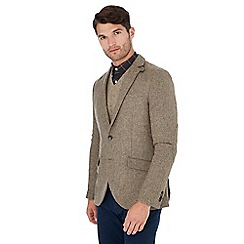 Hammond & Co. by Patrick Grant - Natural 'Moon' herringbone wool blazer
