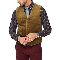 Hammond & Co. by Patrick Grant - Big and tall dark tan jumbo cord waistcoat