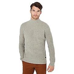 Hammond & Co. by Patrick Grant - Grey roll neck wool rich jumper