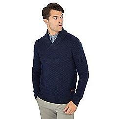 Hammond & Co. by Patrick Grant - Navy knitted wool rich jumper