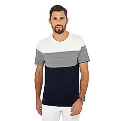 Hammond & Co. by Patrick Grant - Navy chest stripe t-shirt
