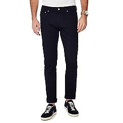 Hammond & Co. by Patrick Grant - Navy dark wash selvedge premium slim fit jeans