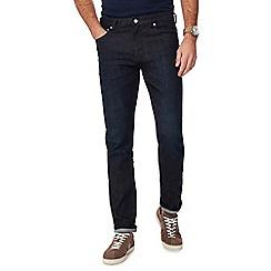 Hammond & Co. by Patrick Grant - Dark blue dark wash selvedge premium slim fit jeans
