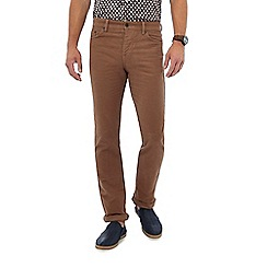 Hammond & Co. by Patrick Grant - Big and tall natural moleskin trousers