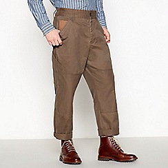 Daniel Rynne - Khaki cotton the work trousers