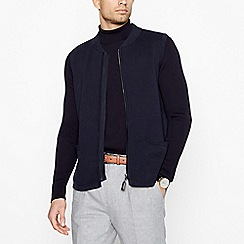 Hammond & Co. by Patrick Grant - Navy 'Milano' Knitted Gilet