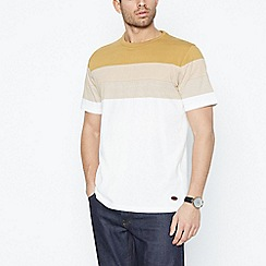 Hammond & Co. by Patrick Grant - Gold Placement Stripe Cotton T-Shirt