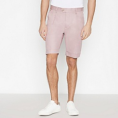 Hammond & Co. by Patrick Grant - Big and Tall Pale Pink Tailored Fit Shorts