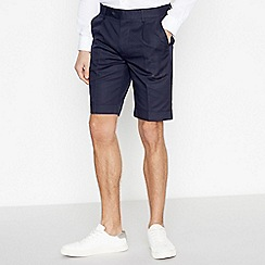 Hammond & Co. by Patrick Grant - Big and Tall Navy Tailored Fit Shorts
