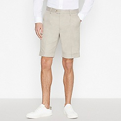 Hammond & Co. by Patrick Grant - Cream Tailored Fit Shorts