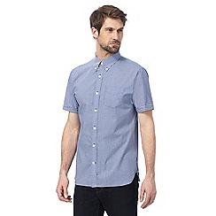 Hammond & Co. by Patrick Grant - Big and tall blue geometric print shirt