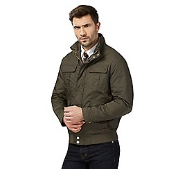 Hammond & Co. by Patrick Grant - Big and tall khaki padded short jacket