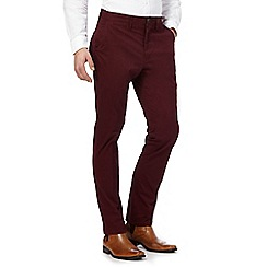 Hammond & Co. by Patrick Grant - Big and tall wine twill chinos