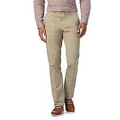 Hammond & Co. by Patrick Grant - Big and tall beige twill chinos