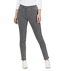 The Collection - Dark grey slim fit jeggings