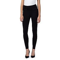 The Collection - Black pocket trim leggings