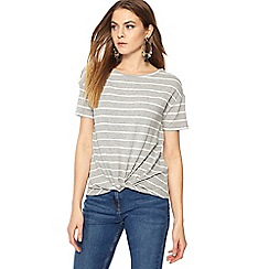 The Collection - Grey striped top