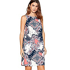 The Collection - Pink printed shift dress