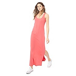 The Collection - Pink scoop neck sleeveless full length dress