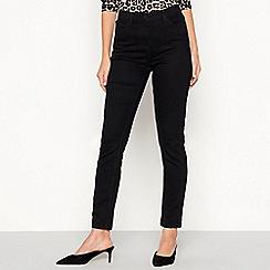 The Collection - Black dark wash slim leg jeans