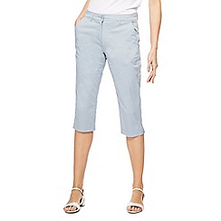 The Collection - Pale blue cropped chinos