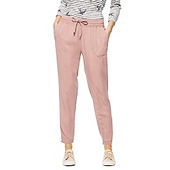 The Collection - Light pink tencel cargo trousers