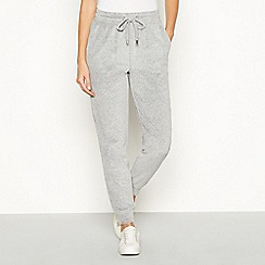 The Collection - Grey velour joggers