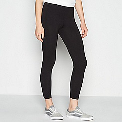 Principles - Black Cotton Stretch Leggings
