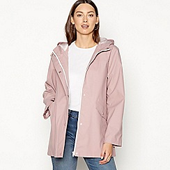 The Collection - Dark rose water resistant jacket