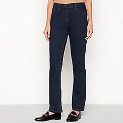 The Collection - Blue slim leg bootcut jeans
