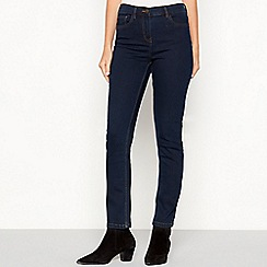 The Collection - Blue mid wash slim leg jeans
