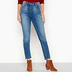 The Collection - Mid blue mid wash slim leg jeans