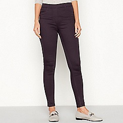 The Collection - Dark grey skinny fit jeggings