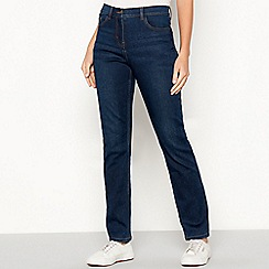 The Collection - Dark blue mid rise straight leg jeans
