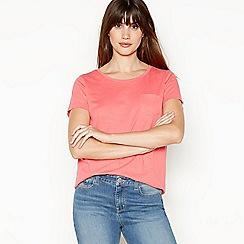 Principles - Pink Cotton T-Shirt