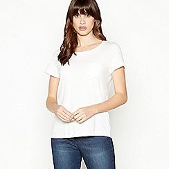 Principles - White Cotton T-Shirt