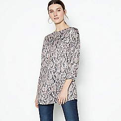 The Collection - Pink Snake Print Tunic Top