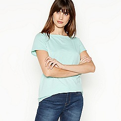 Principles - Light Turquoise Cotton T-Shirt