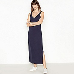 Principles - Navy Jersey Maxi Dress