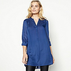 Principles - Blue Longline Shirt