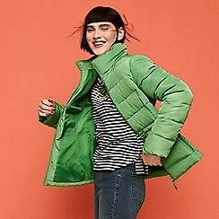 9b9998d942f The Collection - Green  Colour Pop  Puffer Jacket