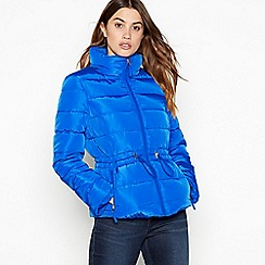 The Collection - Blue 'Colour Pop' Puffer Jacket