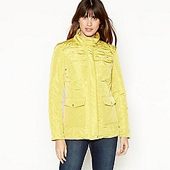 Principles - Yellow Quilted Jacket
