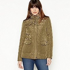 Principles - Khaki Quilted Jacket