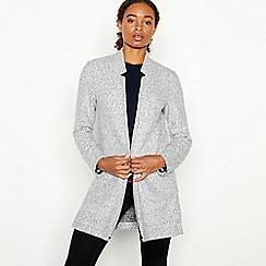 Principles - Grey Boucle Knit 'Anna' Coatigan