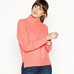 Principles - Pink High Neck Jumper